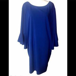 Tiana B. Blue Long sleeve dress